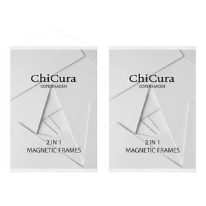 ChiCura Magnetic Frame Ash-White 51cm (537-CF-1024AW-51)