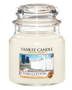 Yankee Candle Classic Clean Cotton (536-1010729E)
