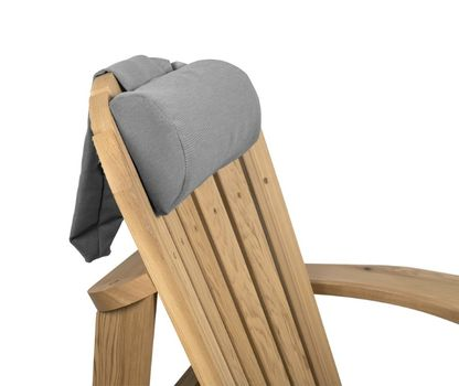 Canadian Outdoor Headrest Pute Grå, Adirondack (340-2514)