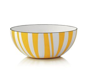 Cathrineholm Stripes Bolle Gul, 18cm