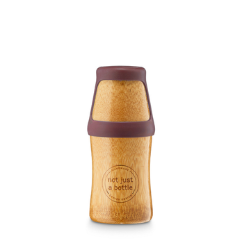 Not Just A Bottle Bamboo Yoga Red 250ml (522-Bamboo-Yoga-Red-250ml)