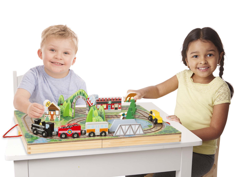 Melissa & Doug Take-Along Koffert Togbane