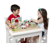 Melissa & Doug Take-Along Koffert Byliv (287-40141)