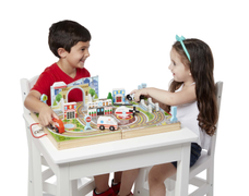 Melissa & Doug Take-Along Koffert Byliv