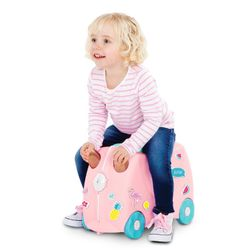 Trunki Barnekoffert - Flossi Flamingo