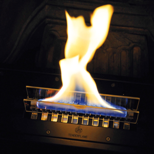 Tenderflame Brenner/ Burner 180 Sort (513-100132)