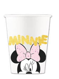 Minnie Mus Gem Pappkopper 8stk (200ml) (126-88975)