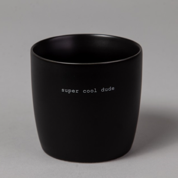 "Sögne Home Kopp Sort_""Super Cool Dude"" (317-60113)"