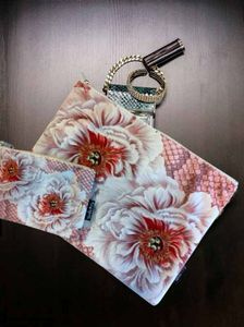 VanillaFly Make-Up Bag & Pouch_Blomst (548-LA54C)