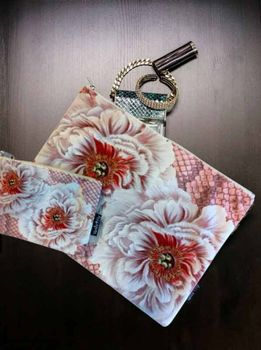 VanillaFly Make-Up Bag & Pouch_Blomst
