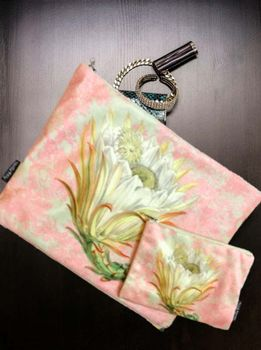 VanillaFly Make-Up Bag & Pouch_Rosa-Gul
