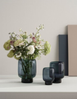 Stelton Hoop Vase H18 Midnight-Blue (553-621)