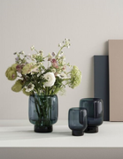 Stelton Hoop Vase H20 Midnight-Blue