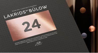 Lakrids by Bülow Adventskalender 2019 med julekule (453-500196)