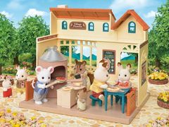 Sylvanian Families Pizzarestaurant Village Pizzeria