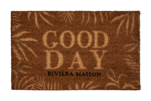 Riviera Maison Dørmatte Good Day (443-444420)