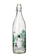 "Mummi Glassflaske ""A-day-in-the-garden"" 1ltr"