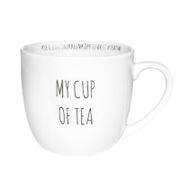"Porsgrund Hashtag Krus ""My-cup-of-tea"""
