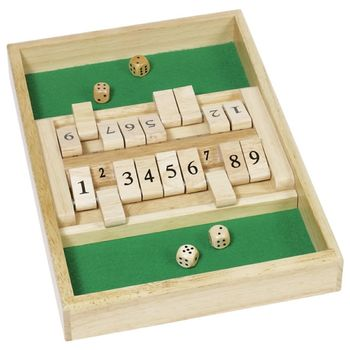 Goki Shut the box Dobbel