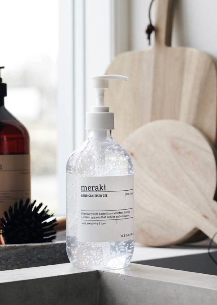 MERAKI Håndsprit Gel 490ml 80% (151-309770005)