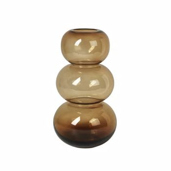 Broste Copenhagen Vase Bubble Indian-Tan H33.5cm (190-14496119)