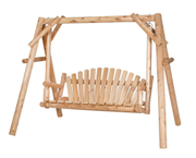 Canadian Outdoor Log Swing Hammoc (340-2517)