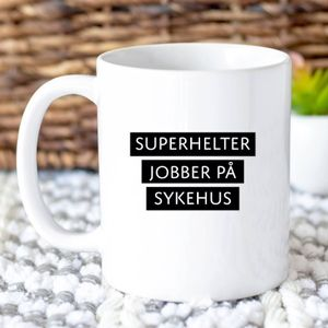 Happy Star Kopp Superhelt Sykehus (474-888)