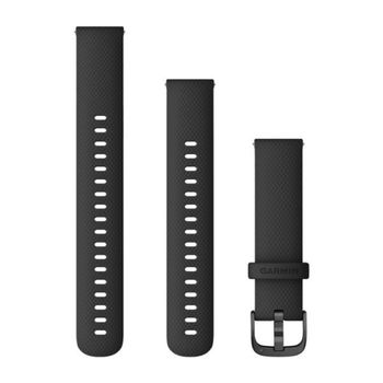 GARMIN Klokkereim Silikon Sort 18mm