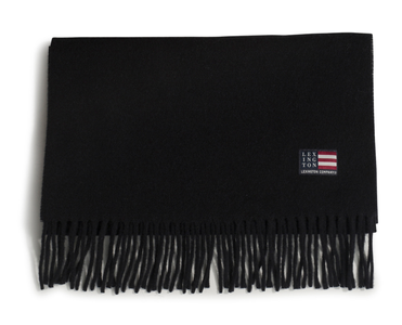 Lexington Massachussets Skjerf Ull Sort (588-20003300-black)