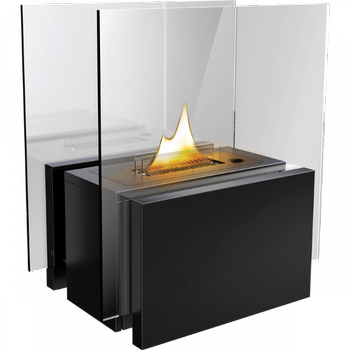 Tenderflame Freestanding Glasspeis 180 Sort