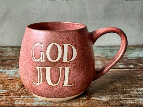 "Trend Design Krus ""God Jul"" Rosa (298-J27001)"