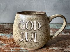 "Trend Design Krus ""God Jul"" Natur"
