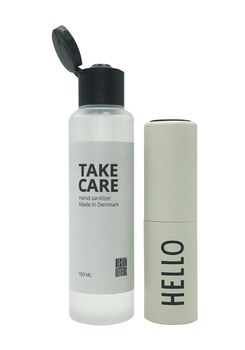 Design Letters Håndsprit To-Go 100ml HELLO (611-30303002OFFWTHELLO)