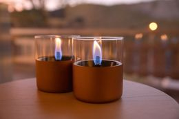 Tenderflame Lilly Copper 2pk+TenderFuel