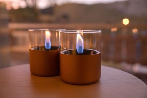 Tenderflame Lilly Copper 2pk+TenderFuel (513-300121)