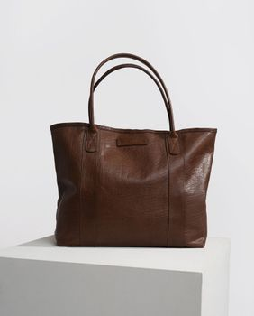 Lexington Mayflower ToteBag Skinn Cognac (588-21933102-248)