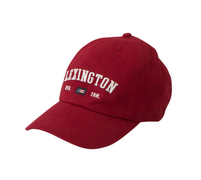 Lexington Houston Caps Vintage Red