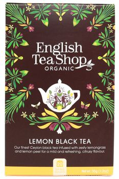 English Teashop Lemon Black Tea (557-29149)
