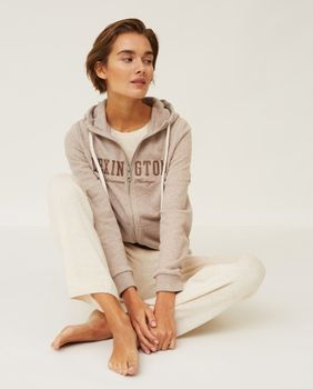 Lexington Kimberly Hoodie Lysebrun X-Small