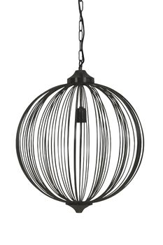 Light & Living Taklampe Mala Sort Ø50cm (273-2919312)