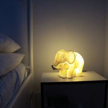 "House Of Disaster Lampe_Elefant ""Mor og Barn"""