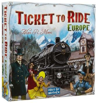 Asmodee Brettspill Ticket-To-Ride Europe/Nordic
