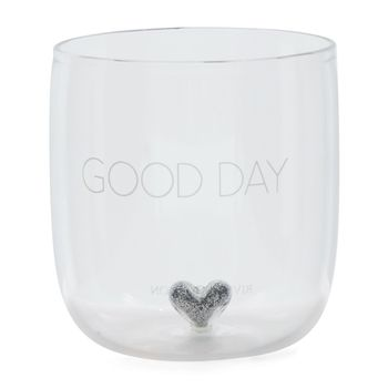 Riviera Maison Good Day Glass H8.5cm (443-475230)
