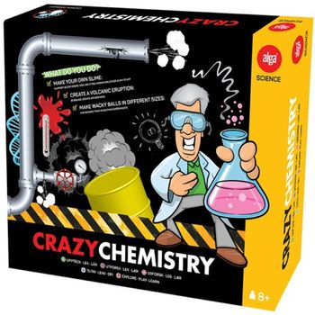 "Alga Science Kjemisett ""Crazy Chemistry"""