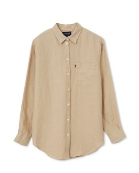 Lexington Isa Skjorte Lin Beige_X-Small (588-22111200-beige-xs)