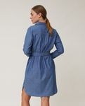 Lexington Isa Kjole Denim X-Small (588-22111301-blue-xs)