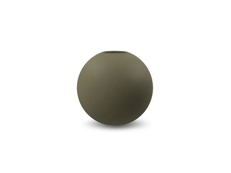 COOEE Ball Vase 10cm, Olive