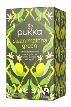 Pukka Te Clean Matcha Green (557-605)