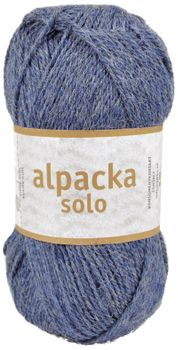Järbo Garn Alpacka Solo Denim-Blue 29121, 50g