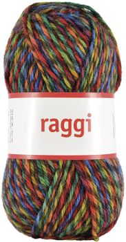 Järbo Garn Raggi Rainbow Twist 15143, 100g